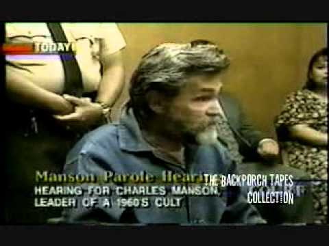 PAROLE Hearing (3) Charles Manson Corcoran State Prison 1997 Backporch Tapes Collections