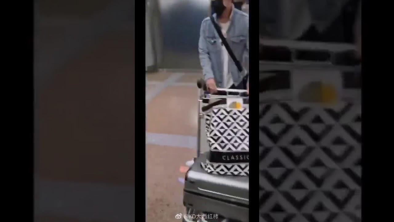 Dimash прилетел в Пекин