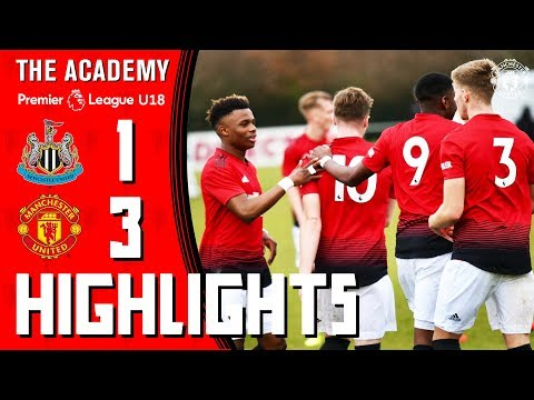U18 Highlights | Newcastle 1-3 Manchester United | The Academy