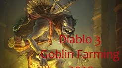 Diablo 3: 2020 Rainbow / Menagerist Goblin Farming routes!!