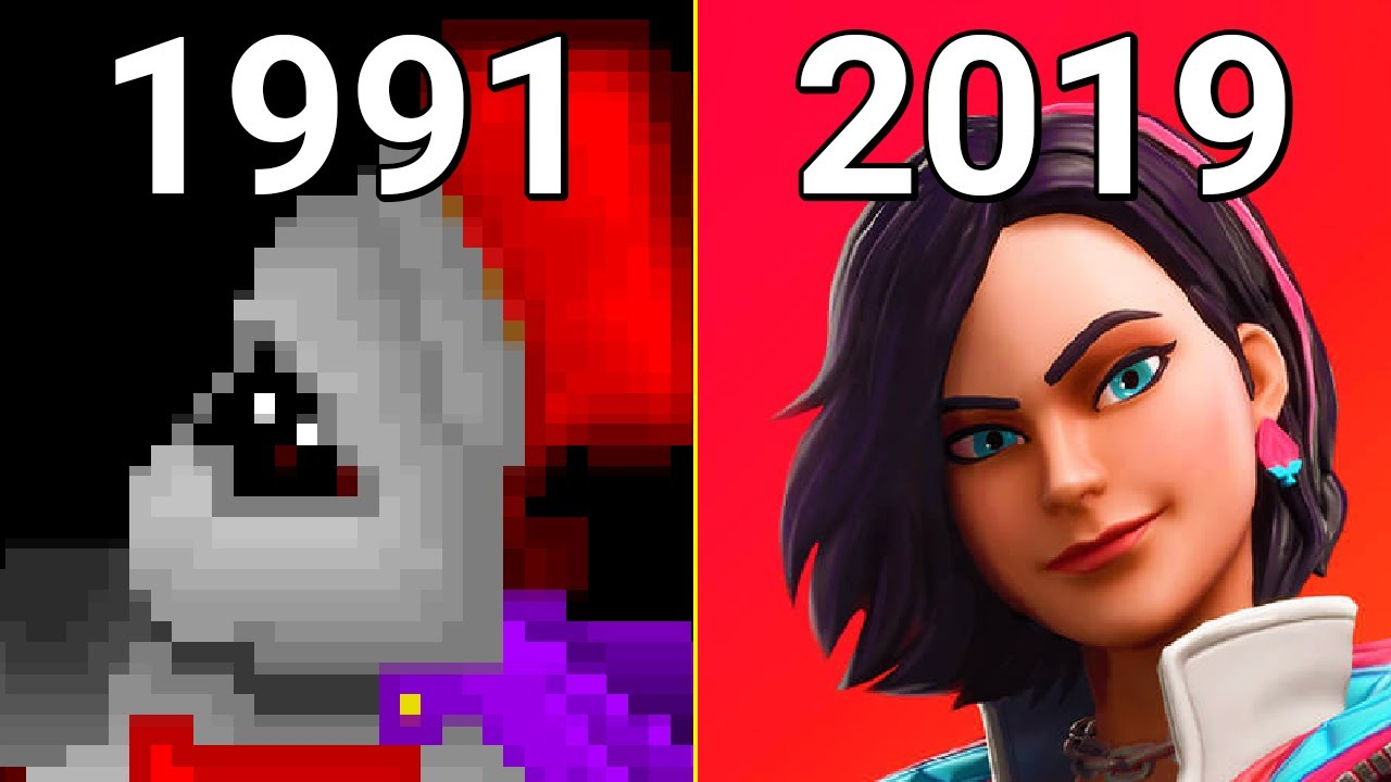 Evolution Of Epic Games 1991 2019 Youtube