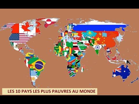 Les Pays Les Plus Pauvres Au Monde Youtube