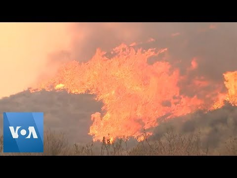 Thousands Told To Evacuate Homes Due To California Wildfires