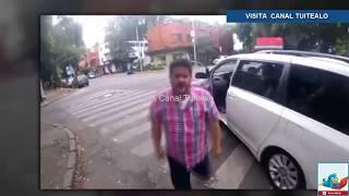 Conductor agrede a ciclista en la Condesa CDMX Video