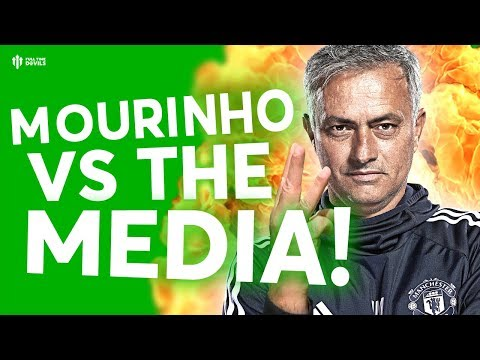 Mourinho vs the Media! The HUGE Manchester United Debate