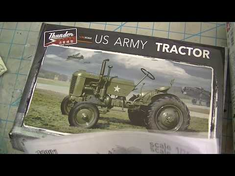 ep162 - build review of the 1/35 thunder models case vai tractor part 1
