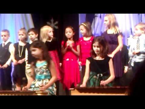 Aliyah's winter concert at Gresham Arthur Academy