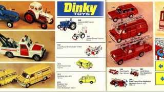 Dinky toys catalogue 1974 diecast cars