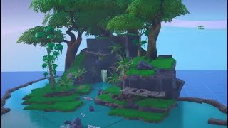 Fortnite creative: working water-fall time-Lapse