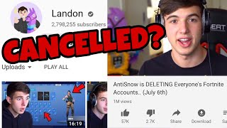 Landon LIED About July 6th... (Fortnite Accounts DELETED)