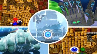 Evolution of Eyerok Battles in Mario Games (1996-2018)