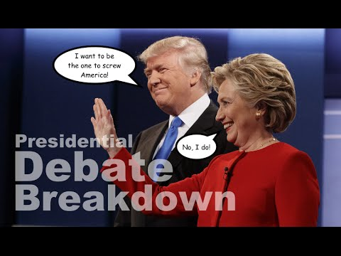 Presidential Debate Breakdown: Clinton Vs. Trump (Spoiler: America Lost)