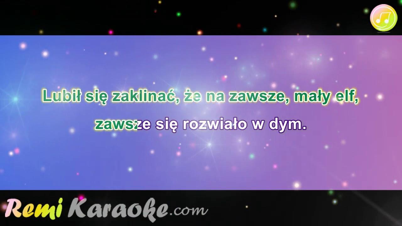 Halina Frackowiak Maly Elf Karaoke Remikaraoke Com Youtube