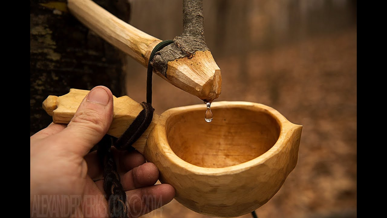Tapping the Birch - Traditional Way