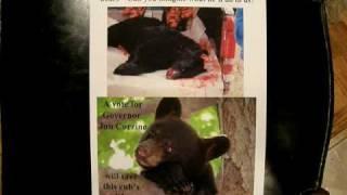 CHRIS CHRISTIE & NJ BLACK BEARS
