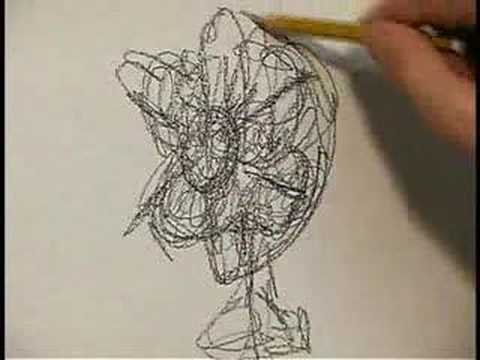 Scribble Drawing Exercise : Designsessions video tutorial gesture drawing youtube