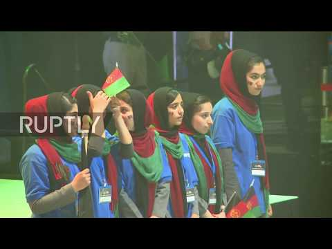 USA: Afghan girls robotics team granted last minute visas to compete in tournament
