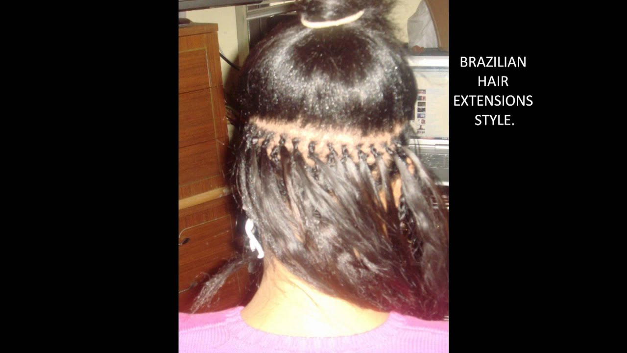 HAIR POWER / BRAZILIAN HAIR EXTENSIONS. - YouTube
