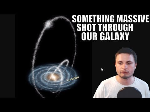 Something Really Massive Punched Through Our Galaxy