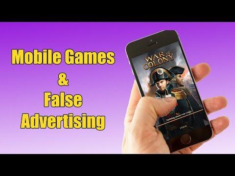 Mobile Games and False Advertising #MakeMobileGamesGreatAgain