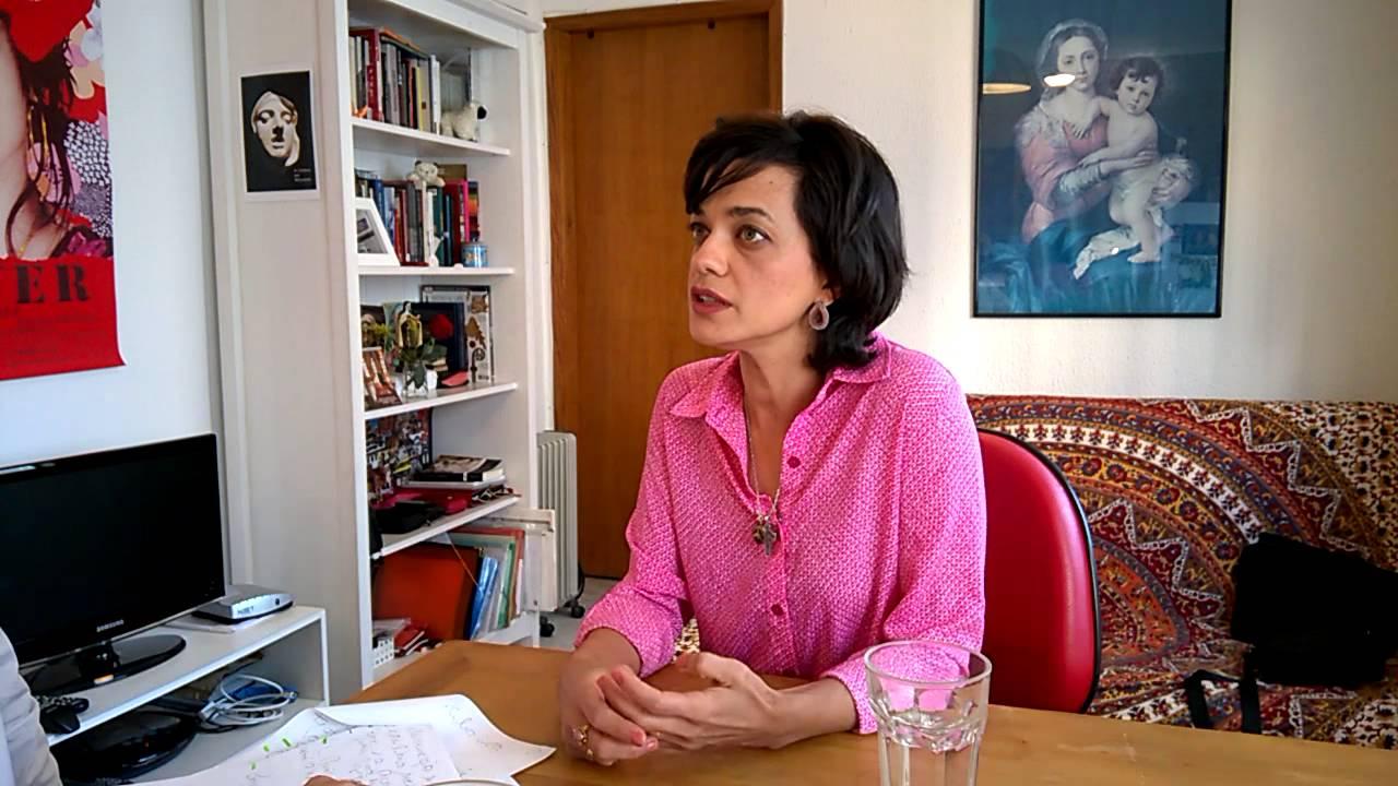 """Ana Cecília Costa Atriz aum entrevista a """"atriz"""" ana cecília costa"""