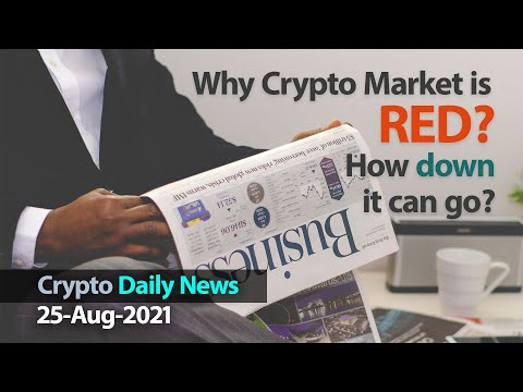 Why Cryptocurrencies Market Crashing Down Crypto Daily News Bulletin 25 August 2021