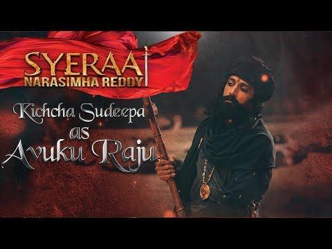 Kiccha Sudeep as Avuku Raju - Sye Raa Narasimha Reddy | Oct 2nd Release