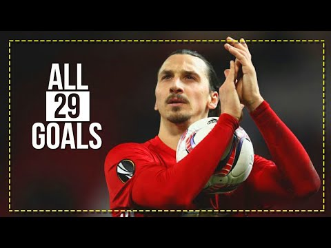 """""""GOOD BYE ZLATAN"""" - All 29 Goals for Manchester United 2016-2018 