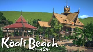 Planet Coaster - Koali Beach (Part 29) - Mine Coaster Station (ft. Rudi Rennkamel)