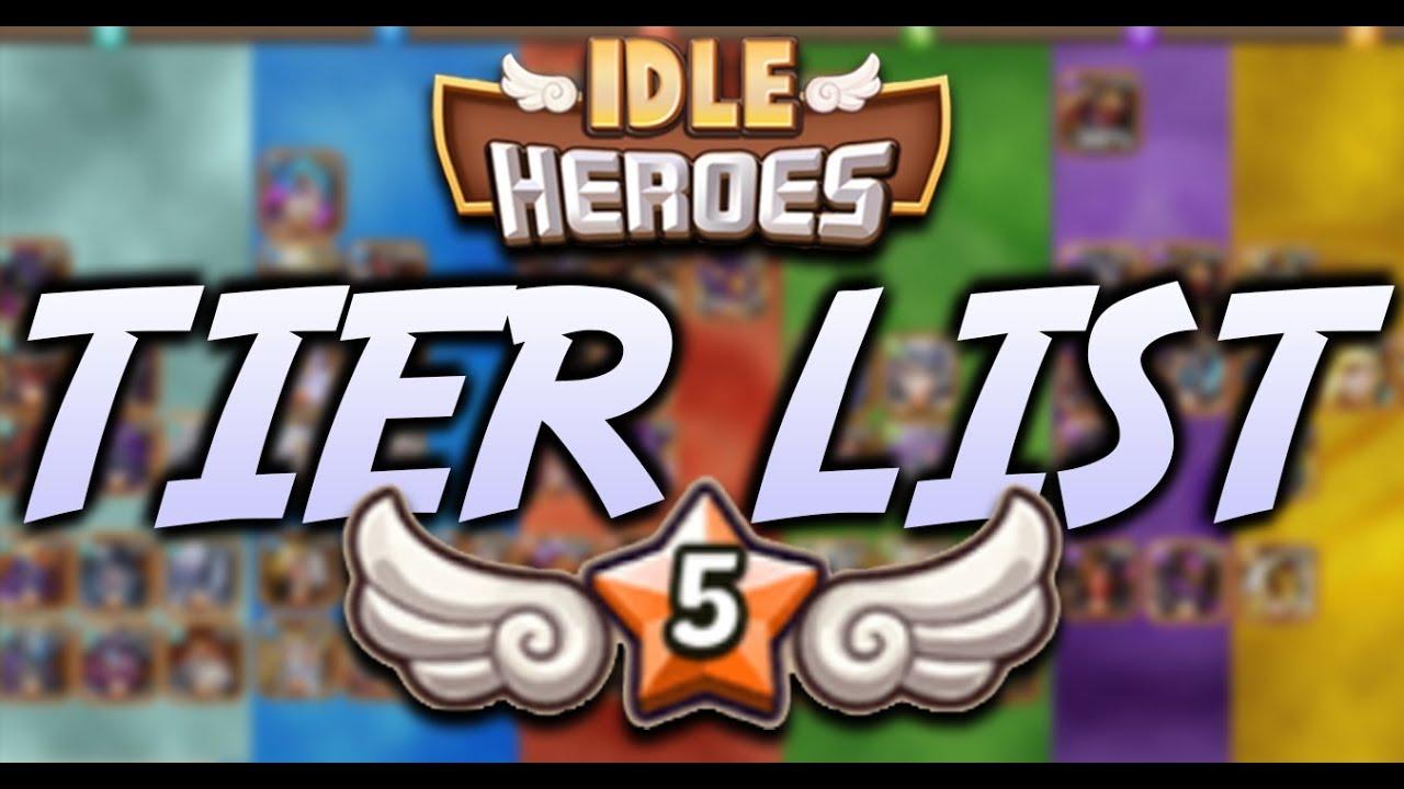 Idle Heroes Tier List 2020.Idle Heroes Tier List Of Idle Heroes Tier List Pve 174