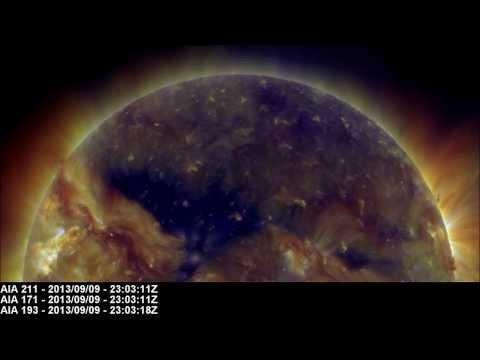 Persistent Dark Gap (CH585)   September 10, 2013