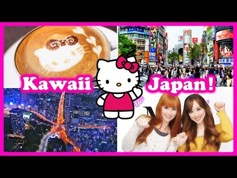 ♡KAWAII JAPAN♡ Hello Kitty Cafe, Tokyo Tower, & Shopping!