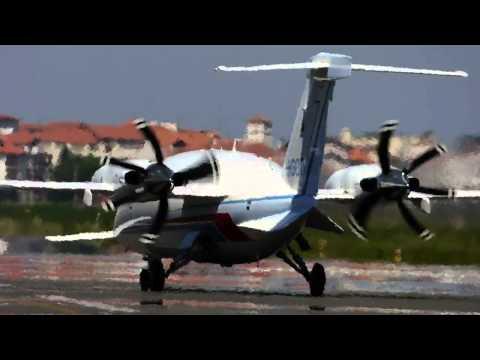Piaggio P.180 Avanti Landing Eas/Leso
