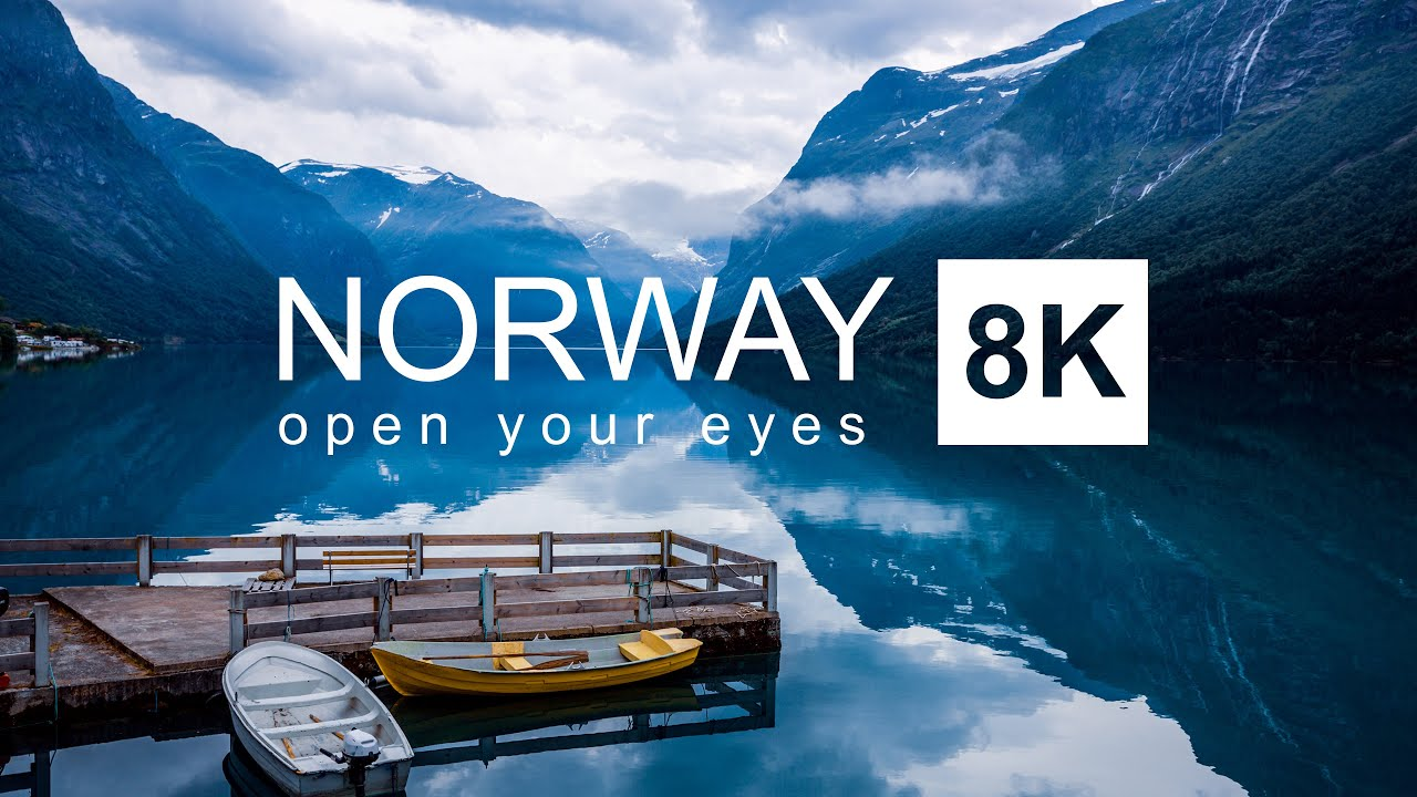 Download Norway in 8K ULTRA HD HDR - Most peaceful Country in the World (60 FPS)