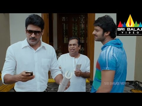 Mirchi Movie Subbaraju as Lover Boy Scene | Prabhas, Anushka, Richa | Sri Balaji Video