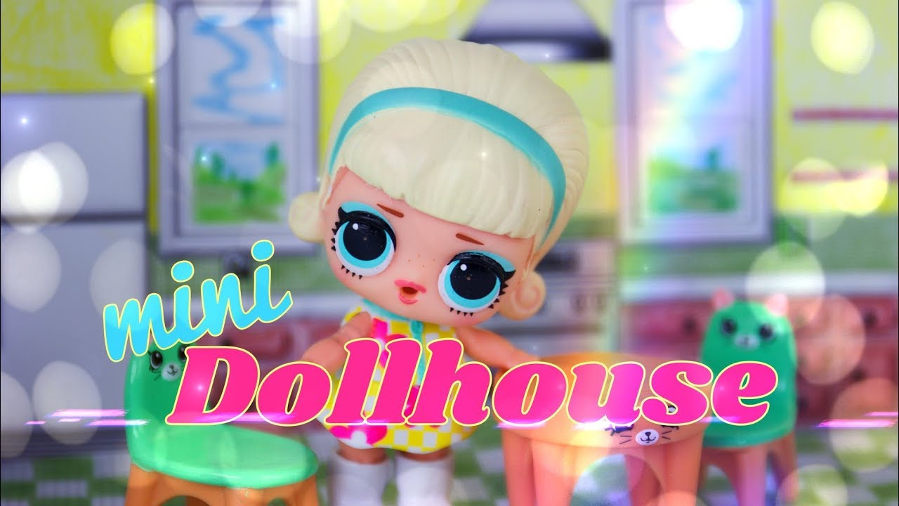 graphic about Printable Dollhouse referred to as Do it yourself - How toward Produce: Printable Mini Dollhouse Best for LOL Question  Shopkins Very little Kingdom