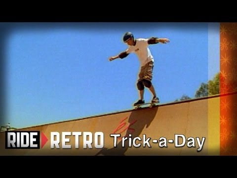 How-To Skateboarding: 50 50 Grind on a Mini Ramp with Colin McKay