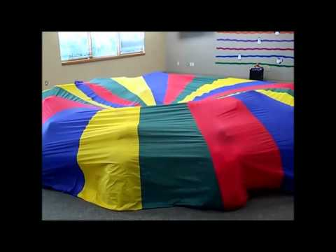 Underneath The Colors Parachute Activity Music And Movement Youtube