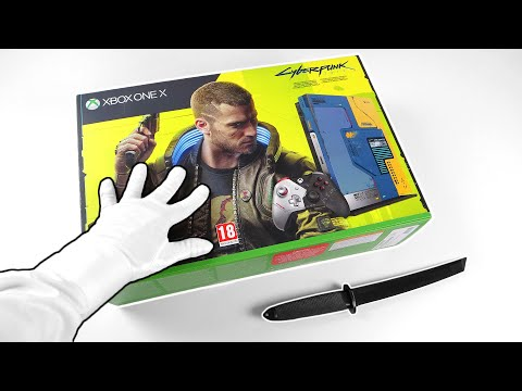 Unboxing CYBERPUNK 2077 Console! - Best Xbox One X Limited Edition?