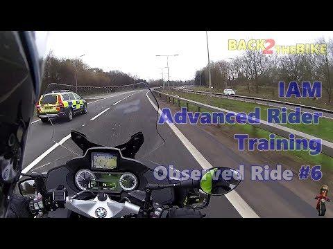 IAM Advanced Rider Training - Observed Ride #6