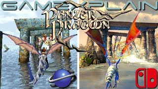 Panzer Dragoon Graphics Comparison (Nintendo Switch vs. Sega Saturn)