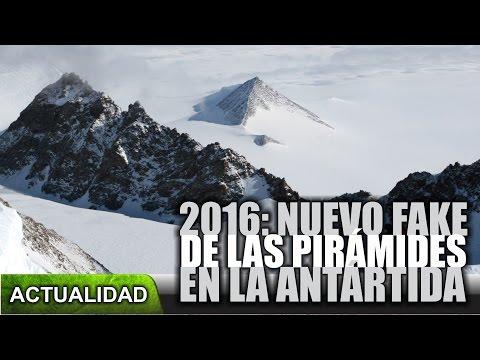 2016: Nuevo fake de las pirámides en la Antártida
