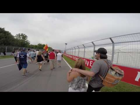 F1 Montreal 2015 Post Race Walk 7