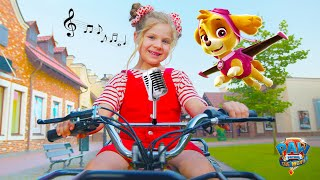Diana and Roma Paw Patrol: The Movie - Keep Up with the Pups - Kids Song (Official Music Video)