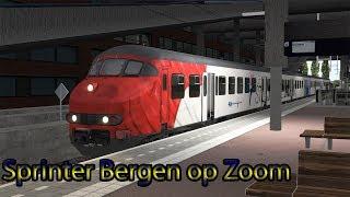 Sprinter naar Bergen op Zoom - Train Simulator 2019