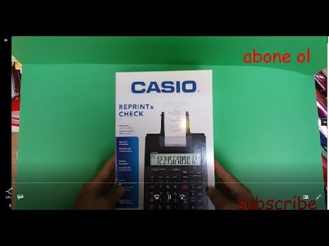 CASIO CALCULATOR HR-100RC (NEW)