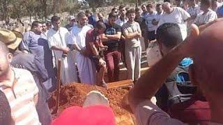 """مئات المواطنين في جنازة نهال  """"الشعب يريد الإعدام"""""""