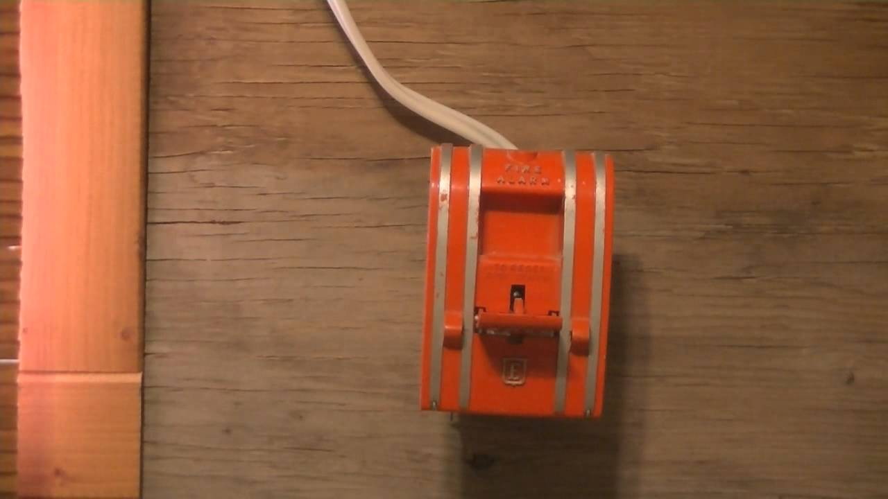 edwards 270 spo fire alarm pull station test [ 1280 x 720 Pixel ]