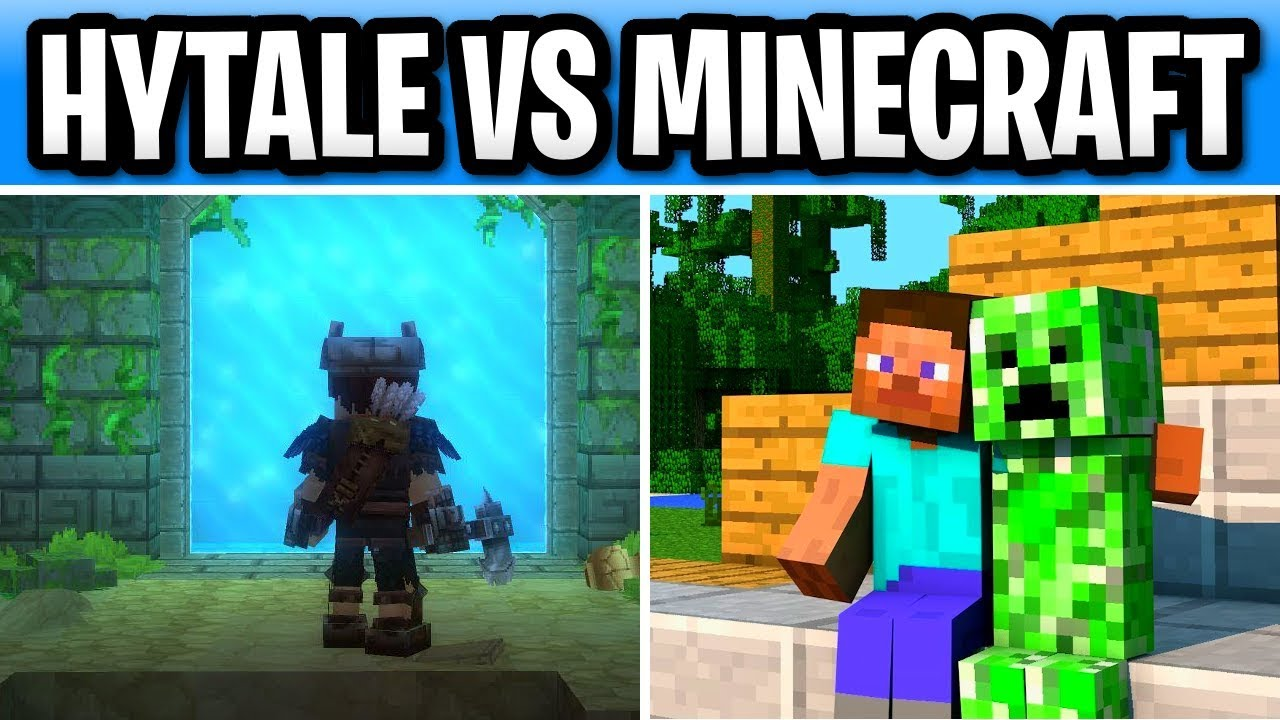Hytale Vs Minecraft! The Debate