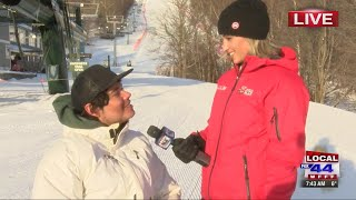 Interview with Future Paralympic Skier and High Fives athlete, Trevor Kennison.